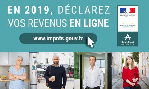 Déclaration des revenus 2019 en ligne