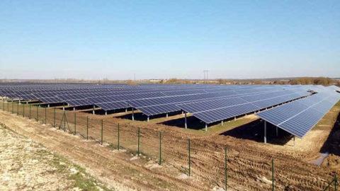 Projet Centrale Solaire